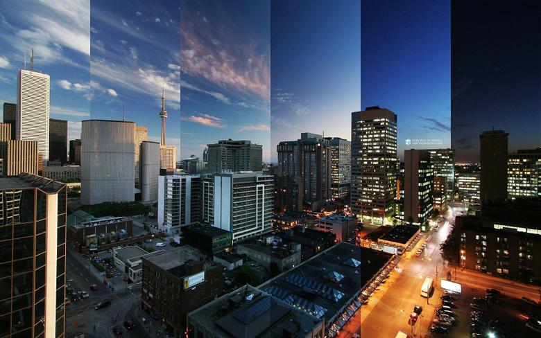 Toronto Reflections Canada Wallpapers Windows Desktop Wallpapers