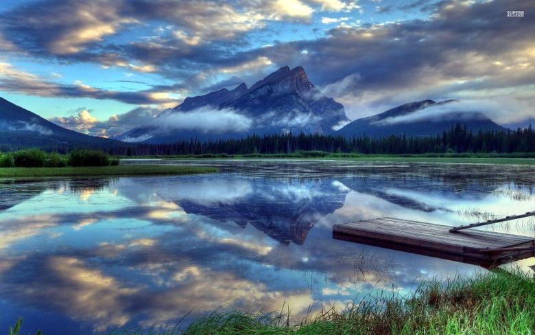 Vermilion Lakes Alberta Canada wallpapers