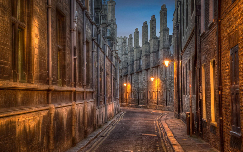 Trinity Lane street in Cambridge HD Wallpapers