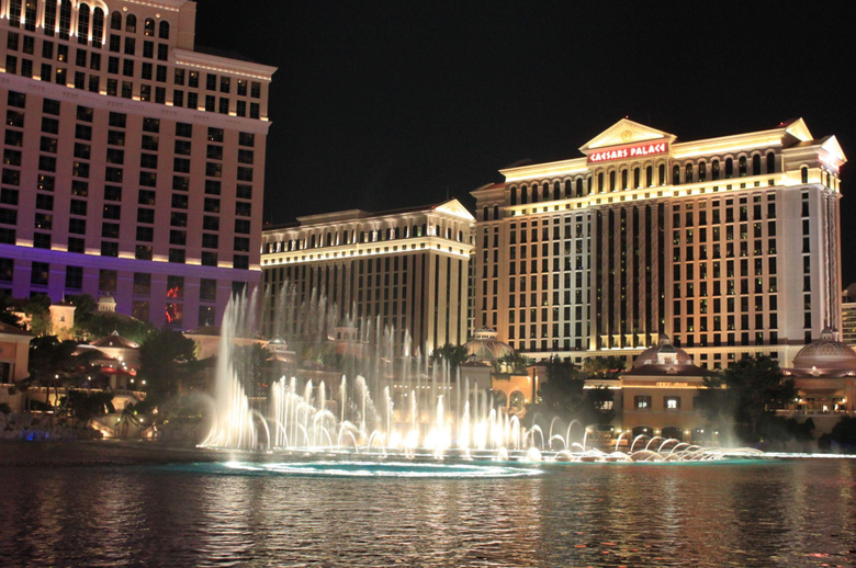 Bellagio Fountains HD Wallpapers