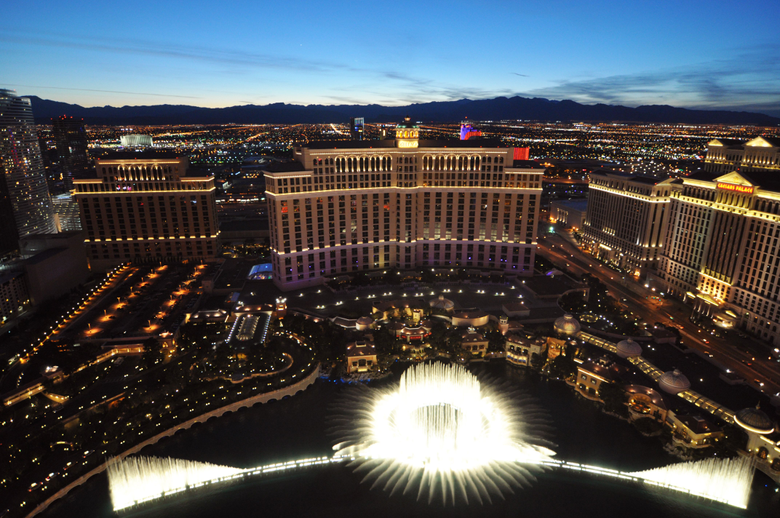Bellagio Hotel Fountains Wallpapers