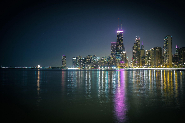 Night City Of Chicago HD Wallpapers