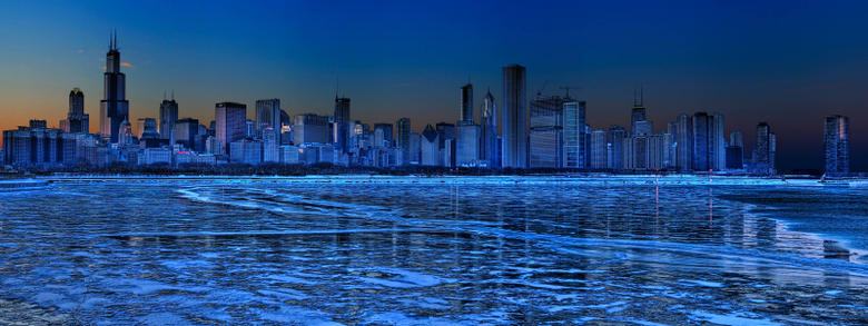 Hd Wallpapers Chicago Hi Resolution Skyscraper 3200x1200PX