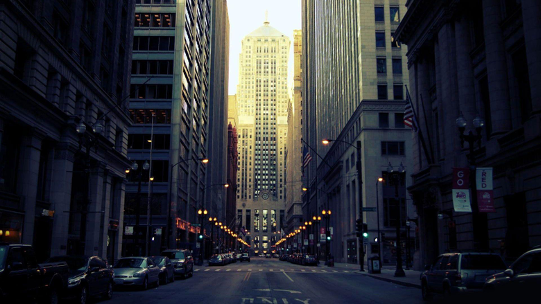 Street in Chicago Wallpapers