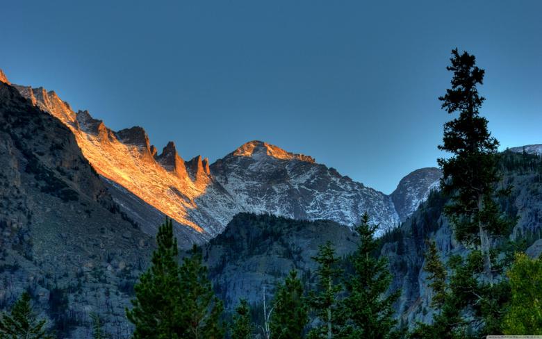 Rocky Mountain National Park Colorado HD desktop wallpapers High