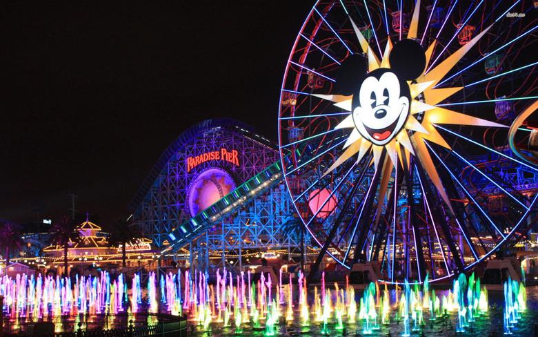 Disneyland Park Logo HD Wallpaper Backgrounds Image