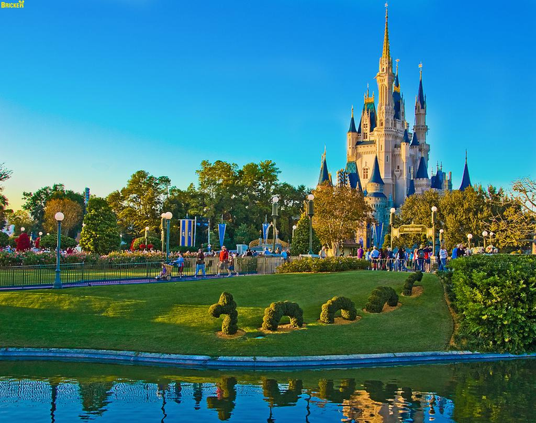 disney welcome beautiful park hd wallpapers