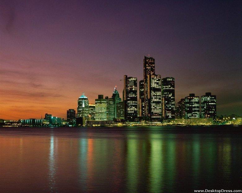 Desktop Wallpapers Natural Backgrounds Motor City Detroit