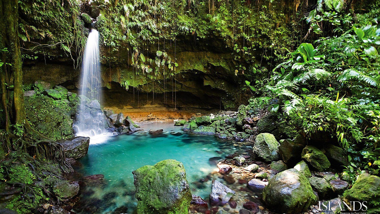 Wallpapers Tagged With Dominica Calendar Dominca Waterfall