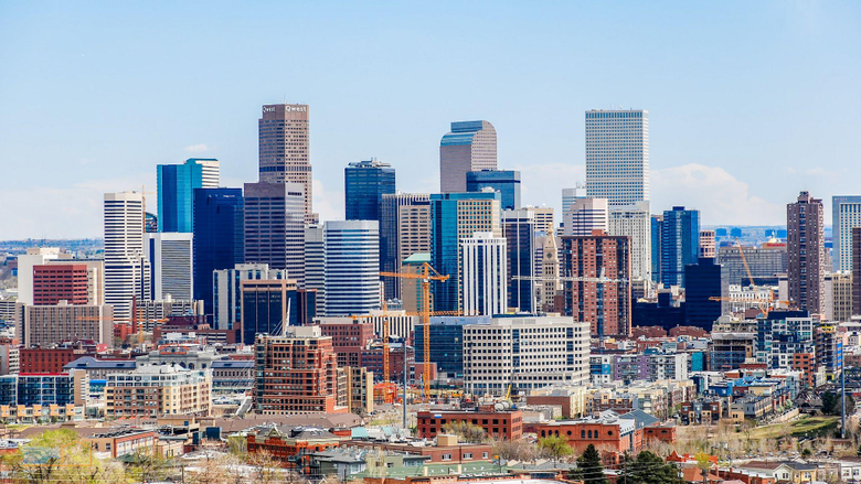 Colorful Denver CO 2048 x 1152 wallpaper backgrounds for iPad