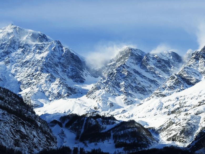 Denver Mountains Wint HD Wallpaper Backgrounds Image