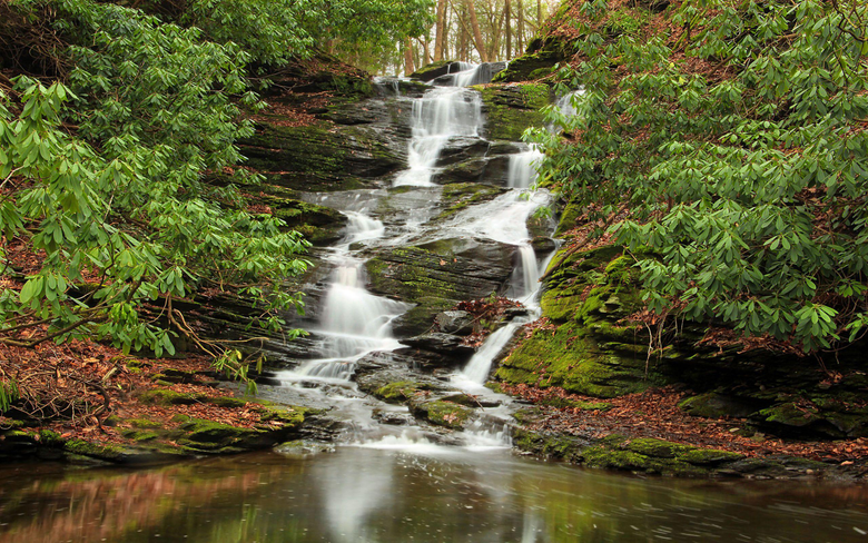 Delaware Water Gap National Recreation Area The Delaware River On