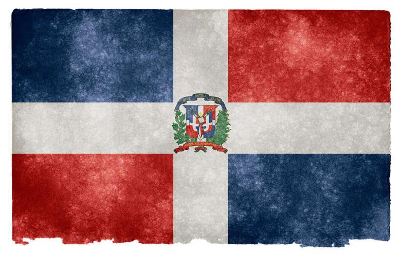 Dominican Republic Grunge Flag HD Wallpapers
