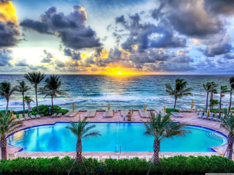 Pool Party Florida HD desktop wallpapers Widescreen High