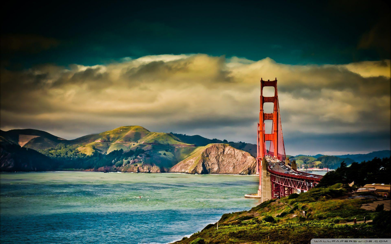 Golden Gate Bridge wallpaper USA hd wallpapers World Scenery