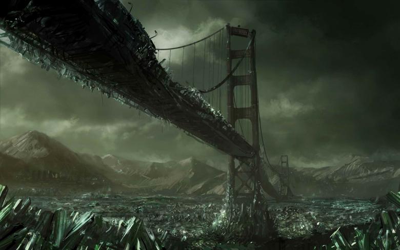 Ice Age the Golden Gate Bridge