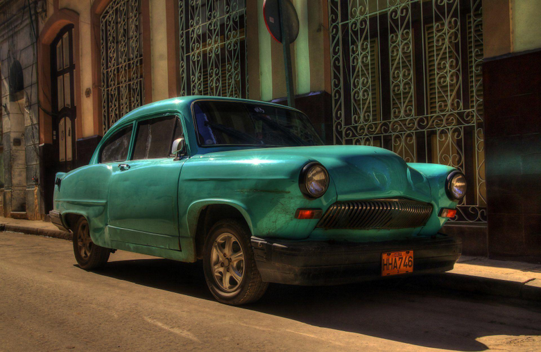 vehicles retro street cuba havana HD wallpapers