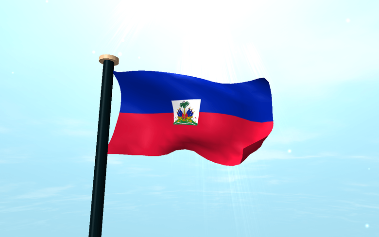 Haiti Flag 3D Live Wallpapers