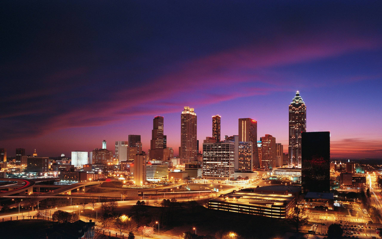HD Atlanta Skyline Wallpapers