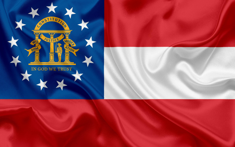 wallpapers Flag of Georgia State flags of States USA