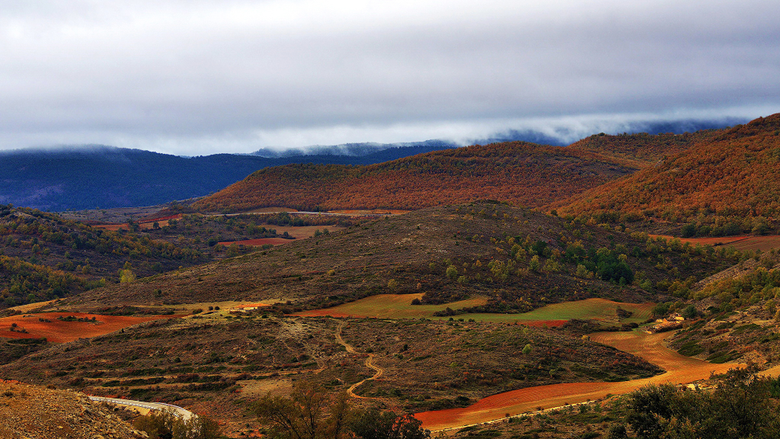 Wallpapers Spain Guadalajara Nature Fields Landscape 2048x1152