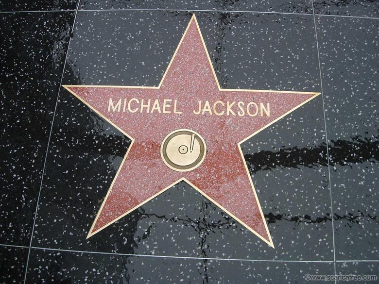 Michael Jackson immagini Michael s stella star On The Hollywood