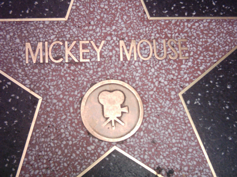 File Mickey Mouse star in Walk of Fame jpg