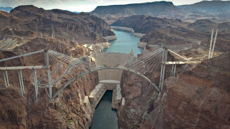 Known places Hoover Dam Bypass desktop wallpapers nr 38561