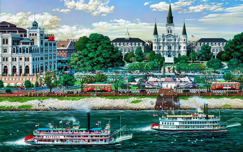 Jackson Square New Orleans wallpapers
