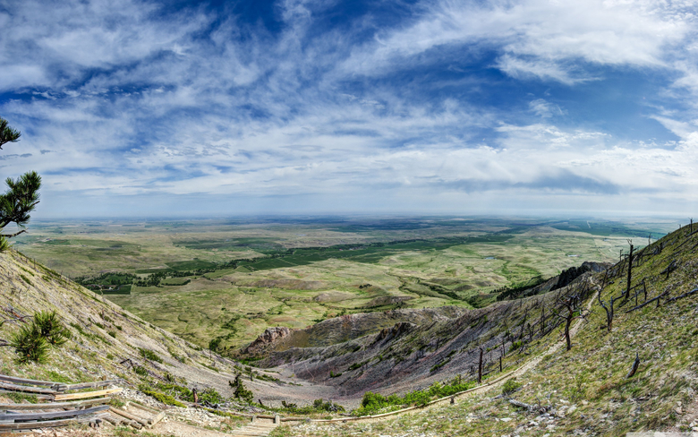 Bear Butte Towards North Dakota 4K HD Desktop Wallpapers for 4K