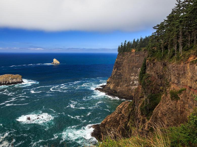 popular coast sea oceans sea cliffs wallpaper nature Oregon