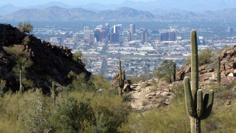 Earth City Cactus Desert Phoenix Arizona HD Wallpapers Desktop