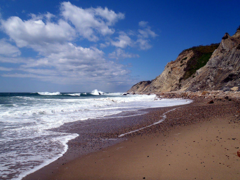 Block Island is a secluded little island 10 miles south of the coast
