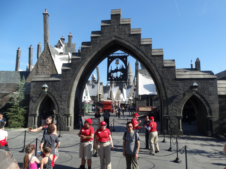Harry Potter World Universal Studios Hollywood