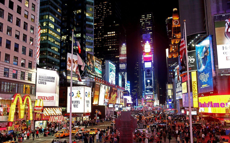 Times Square HD Wallpapers For PC Wallpapers