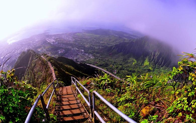 Haiku Stairs Oahu Hawaii wallpapers