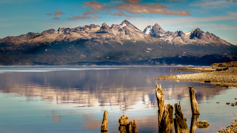 Wallpapers mountain 4k HD wallpaper lake sea Ushuaia Argentina