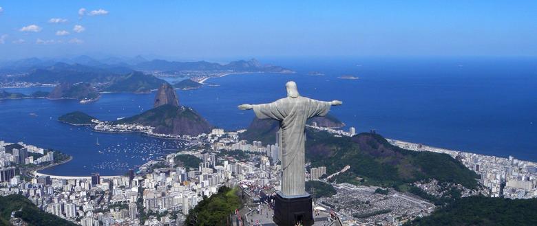 HD Backgrounds Rio De Janeiro Brazil Christ The Redeemer Top View