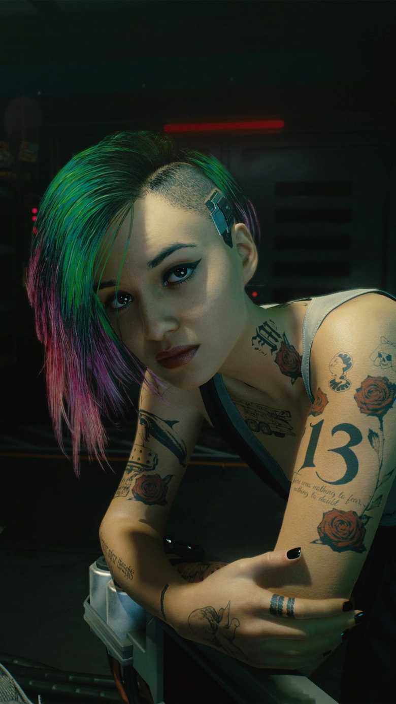 Judy Alvarez Cyberpunk 2077 4K Ultra HD Mobile Wallpapers