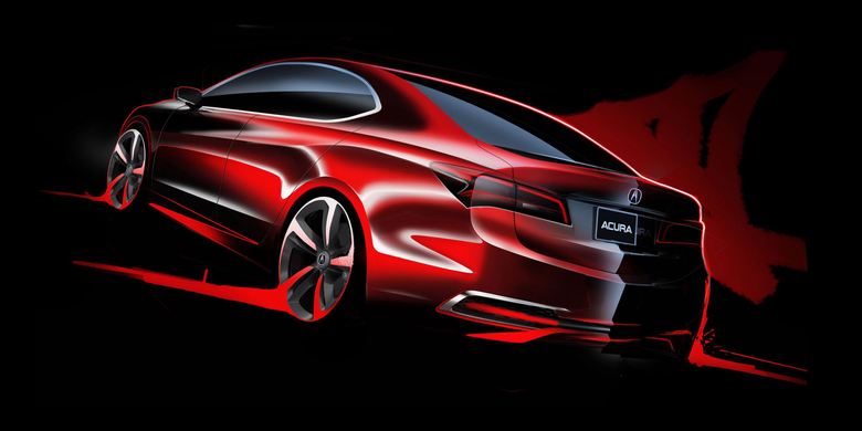 Acura TLX Car Design Wallpapers