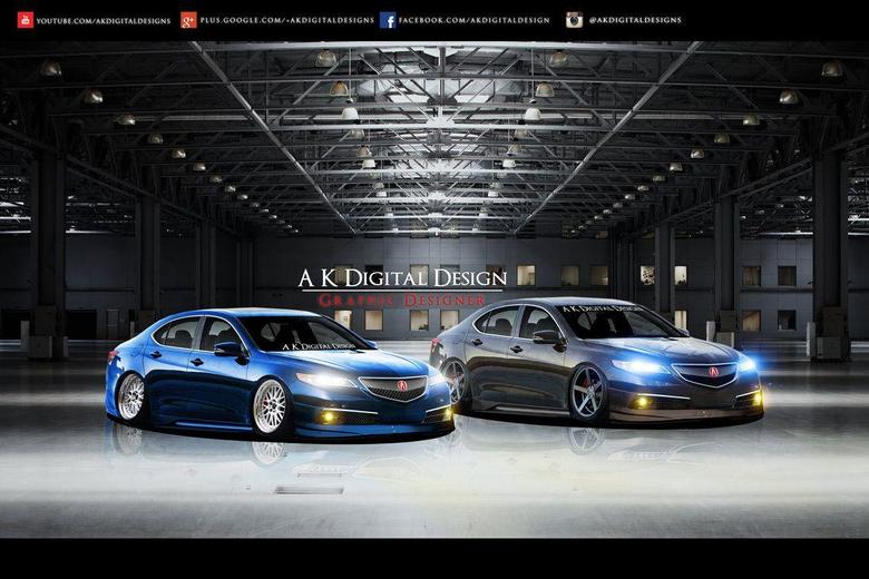 Acura TLX Wallpapers by akdigitaldesigns