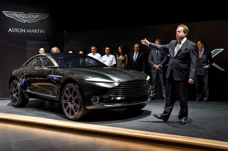 New Aston Martin factory DBX crossover will be hand built in Wales