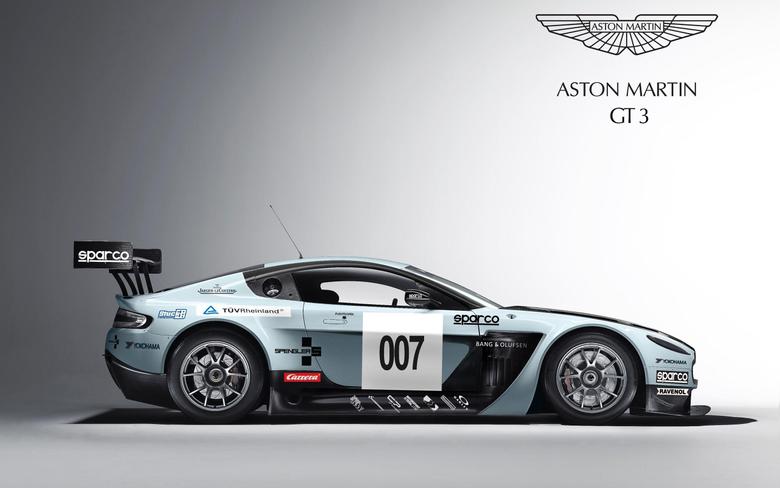 Aston Martin V12 Vantage GT3 3 Wallpapers