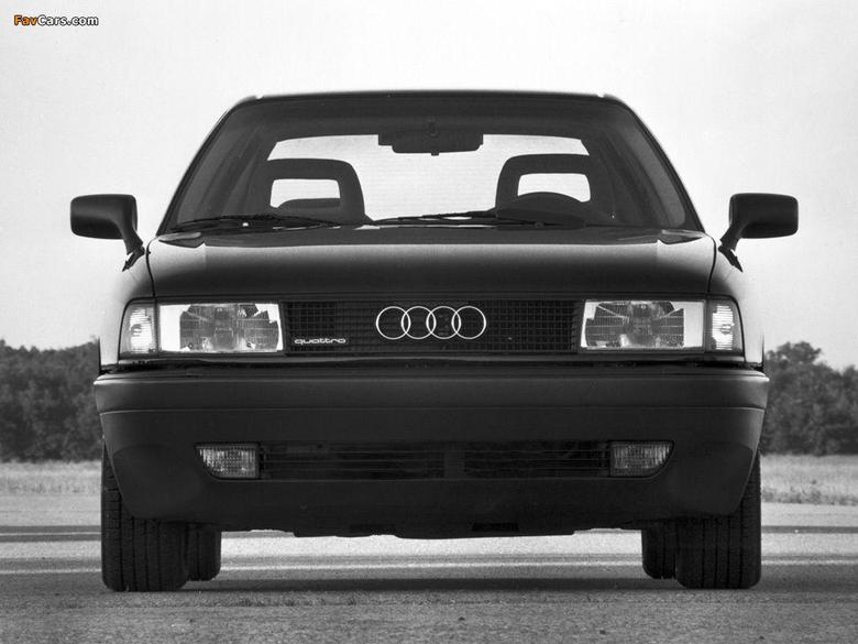 Audi 80 quattro US