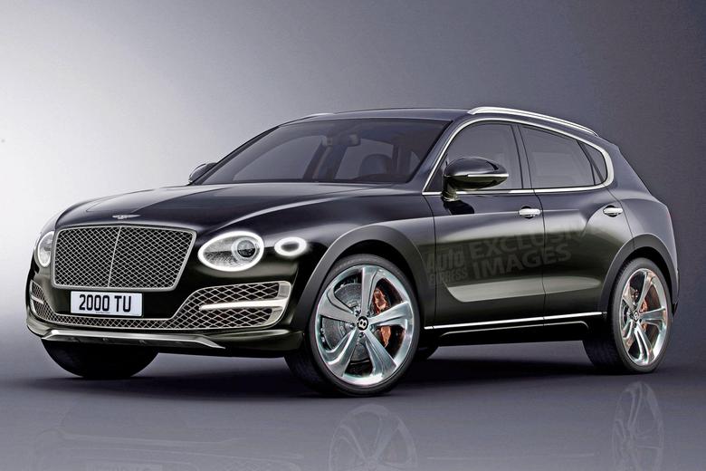 New baby Bentley Bentayga to help double Bentley sales