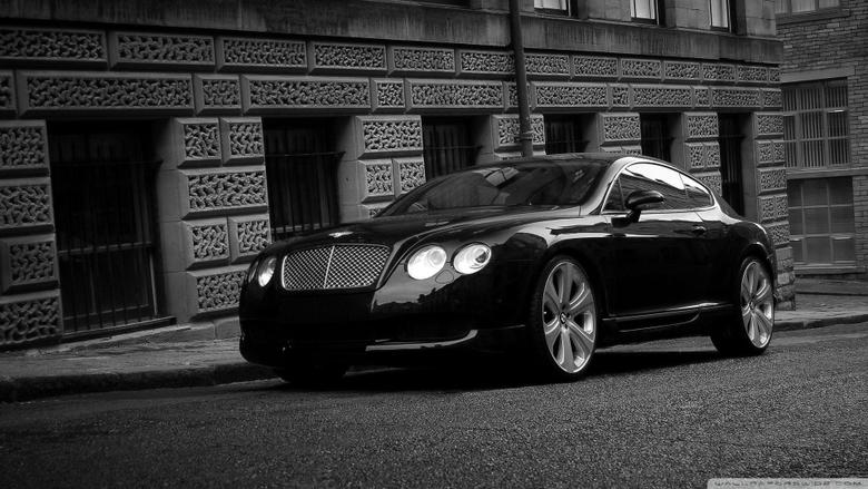 Bentley Continental GT Black 4K HD Desktop Wallpapers for 4K