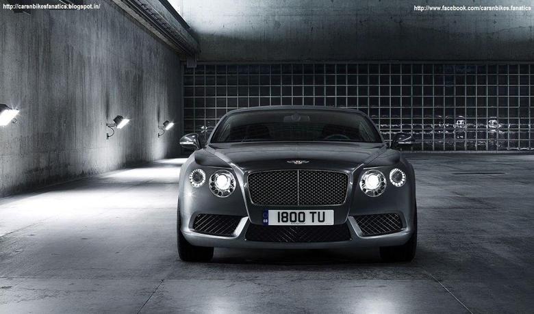 Car Bike Fanatics 2013 Bentley Continental GT V8 Wallpapers