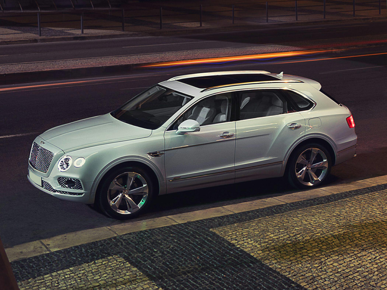 2020 Bentley Bentayga Speed is a 190