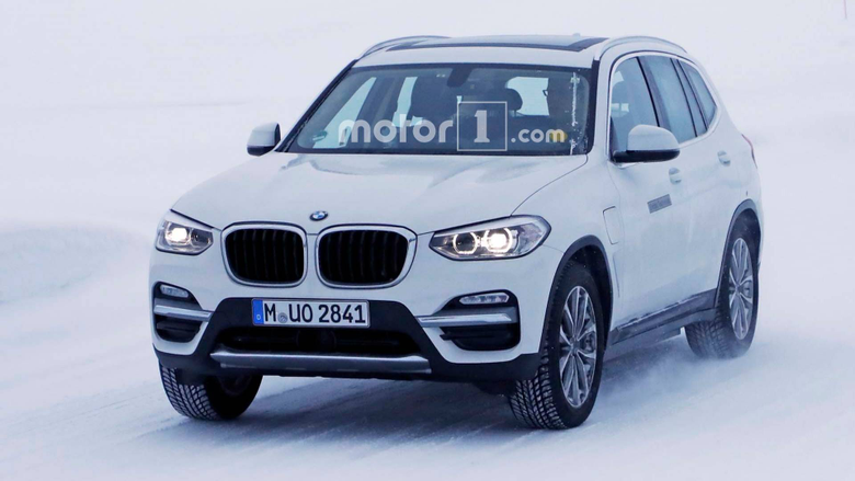 BMW iX3 Electric SUV Caught Again Now Wearing A Different Fascia
