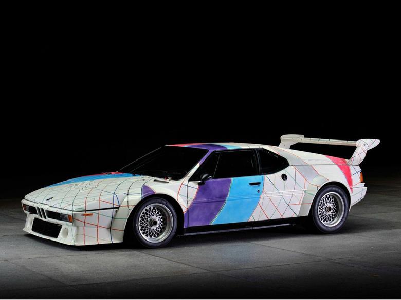 Fondos de Pantalla BMW M1 Procar Art Car by Frank Stella E26